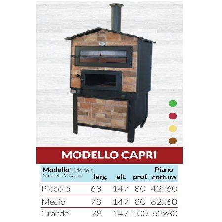 Forno Modello Capri