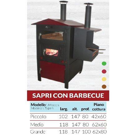 Modello Sapri con Barbecue