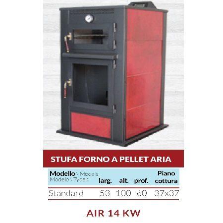 Stufa Forno a Pellet Aria