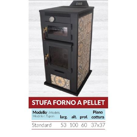 Stufa Forno a Pellet